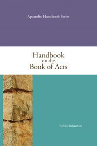 Handbook on the Book of Acts cover