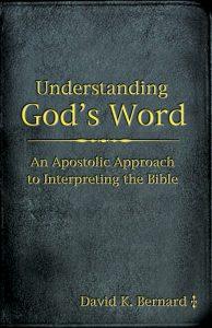 Understanding God's Word cover