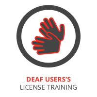 Deaf Users's License Training